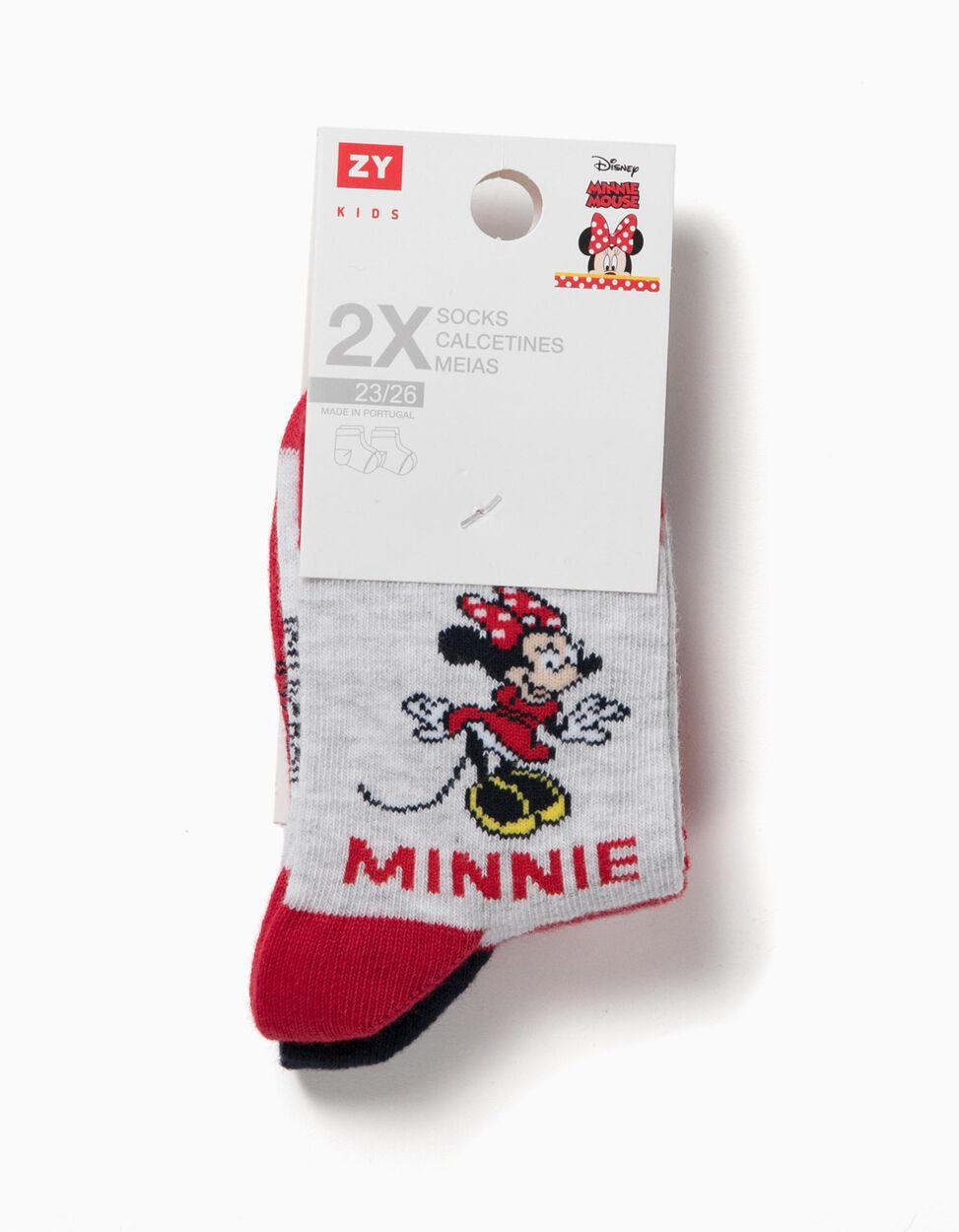 Pack 2 Meias Minnie