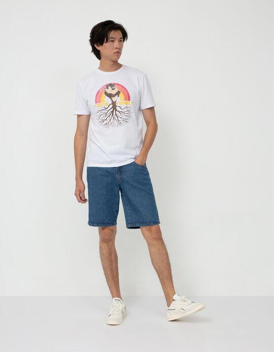 Looney Tunes T-shirt, Men, White