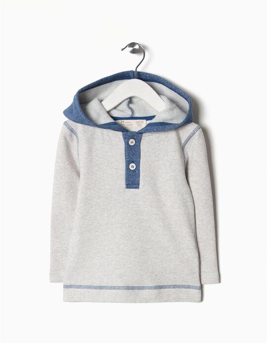 Sweatshirt com capuz wifi and music