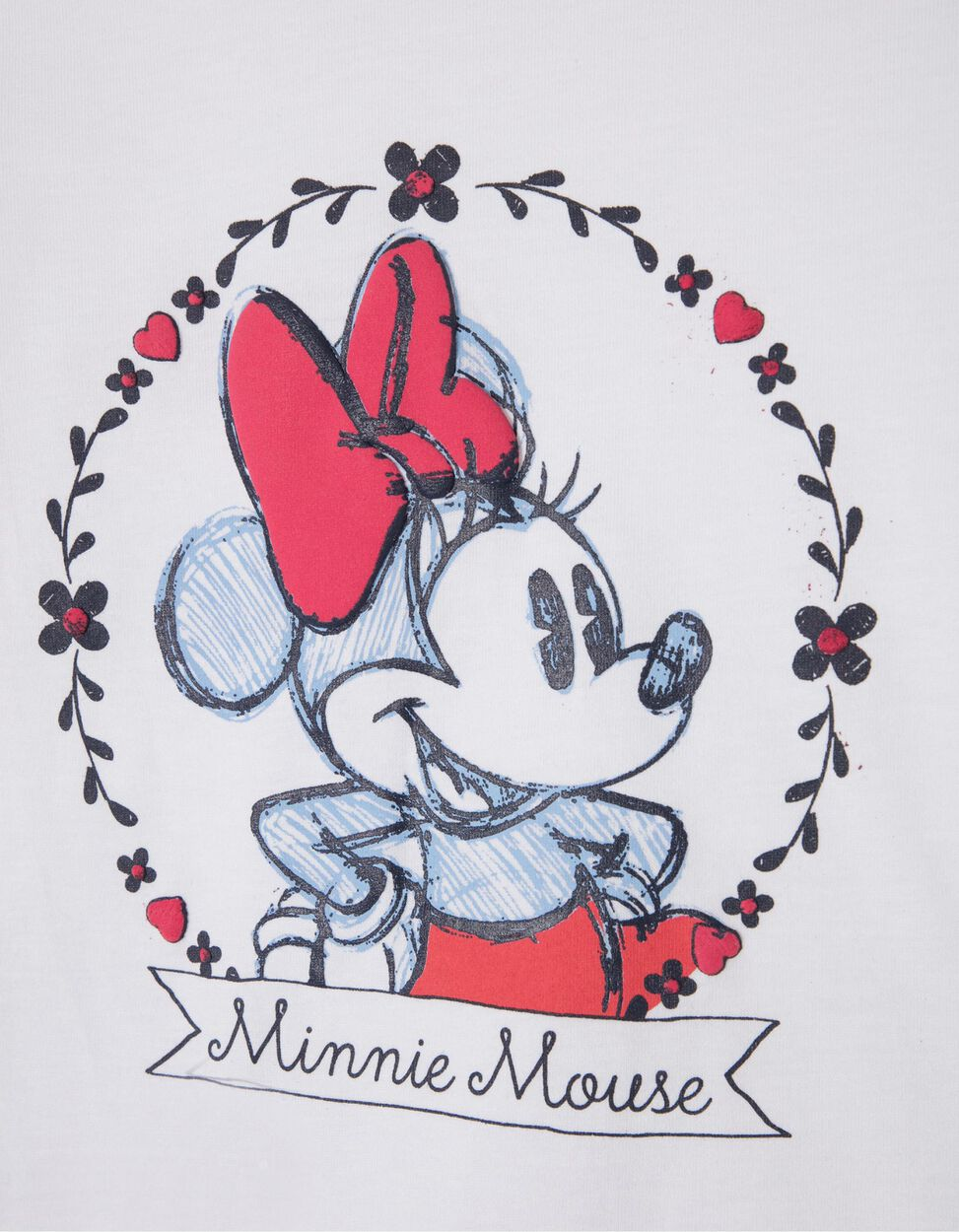 Pijama Manga Curta Minnie Mouse