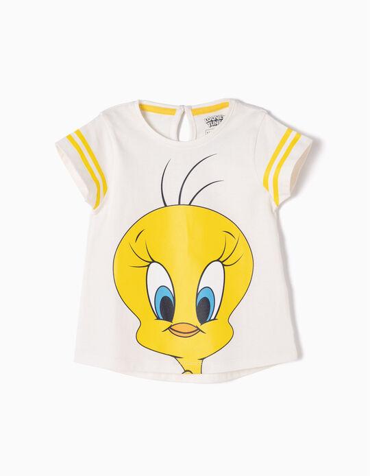 T-shirt Tweety Branca