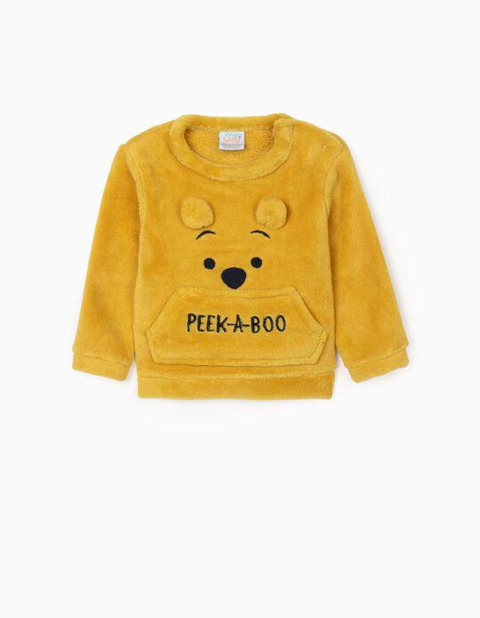 Camisola para Recém-Nascido 'Peek-A-Boo', Amarelo