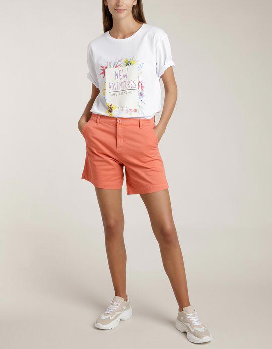 Chino-Type Shorts