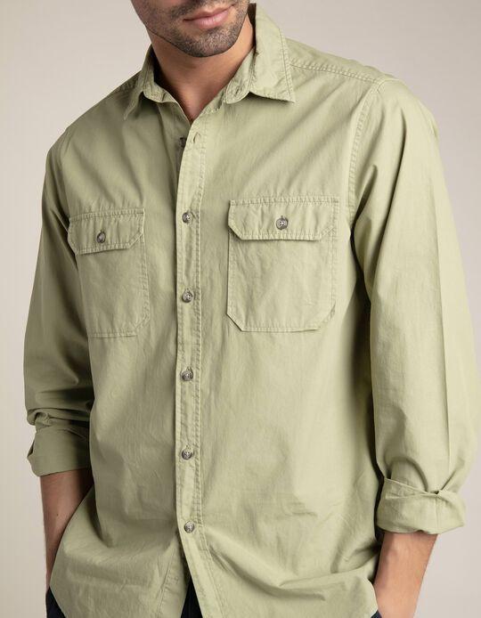 Camisa estilo safari
