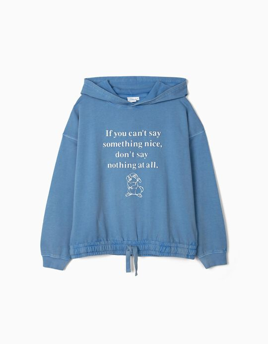 Sweatshirt com Capuz, Mulher