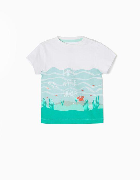 T-shirt Under Water World