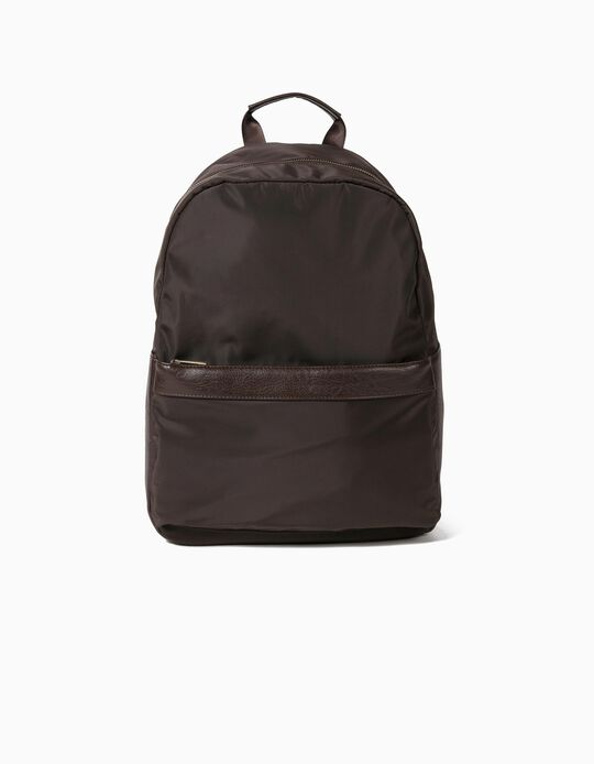 Dual Fabric Backpack