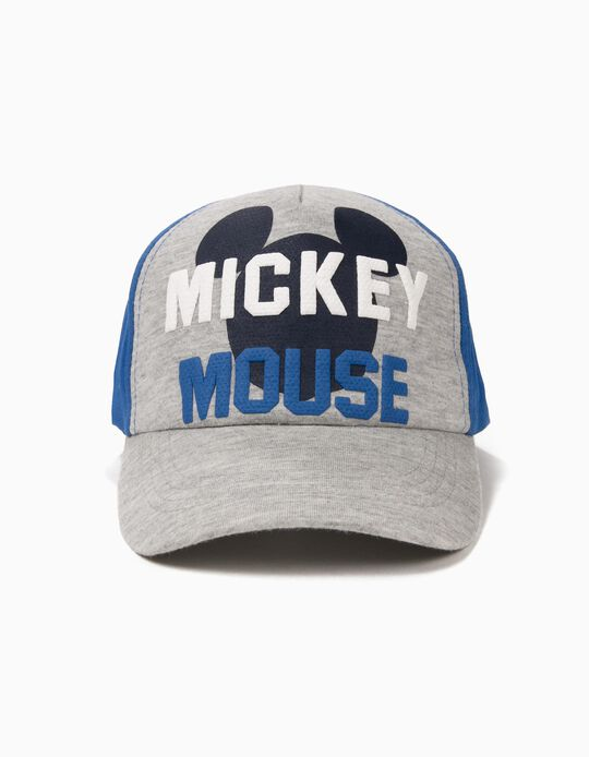 Cap for Boys 'Mickey Mouse', Grey/Blue