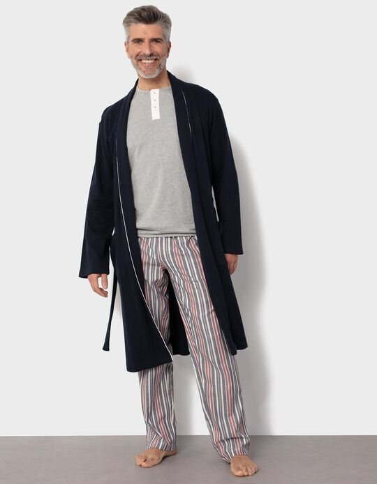 Long Structured Dressing Gown