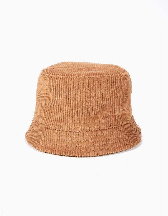 Chapéu de Bombazine Camel