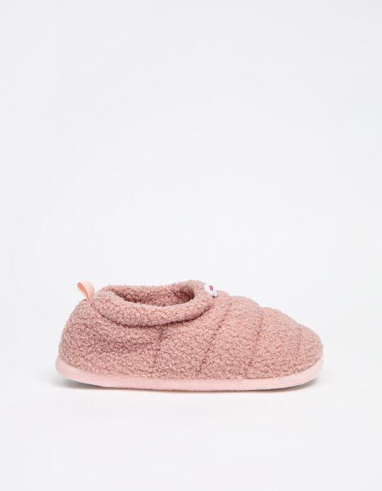 Sherpa Slippers, Women, Pink