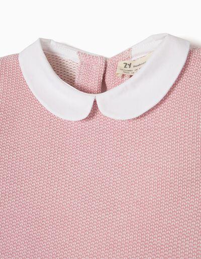 Sweatshirt Rosa Combinada
