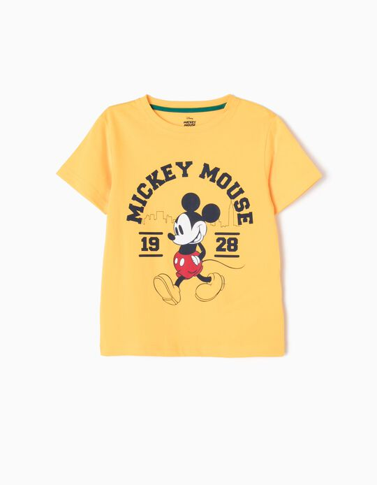Yellow T-Shirt, Mickey 1928