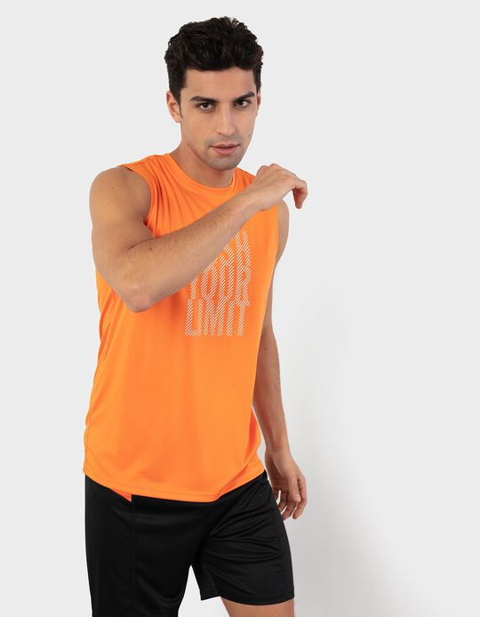 Tank Top with Breathable Panel