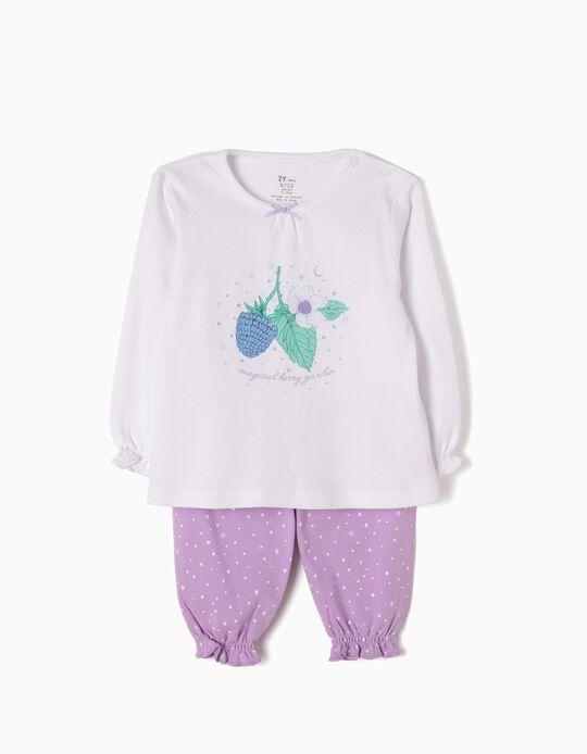 Pijama Manga Comprida e Calças Magical Garden