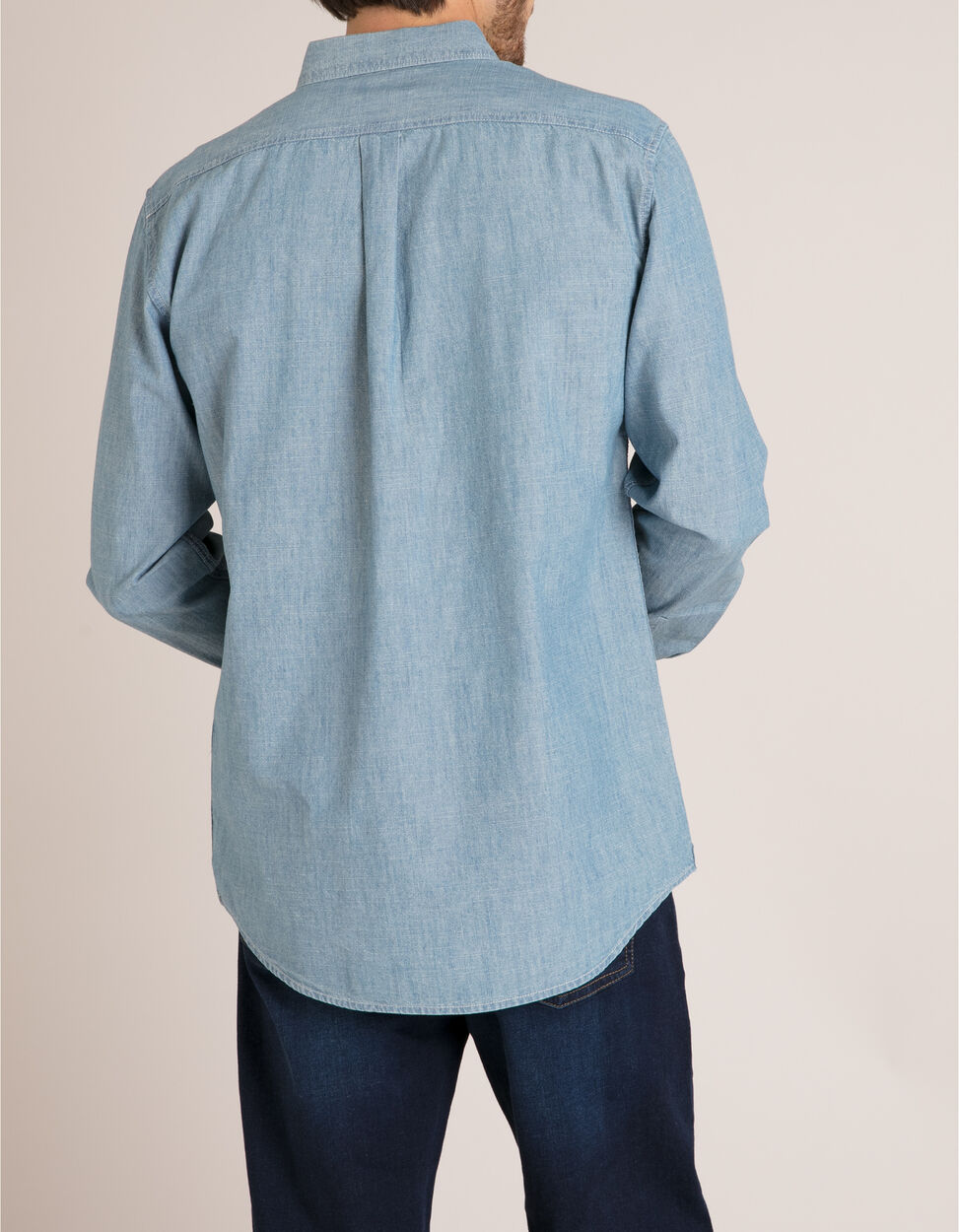 Camisa Chambray Regular Fit
