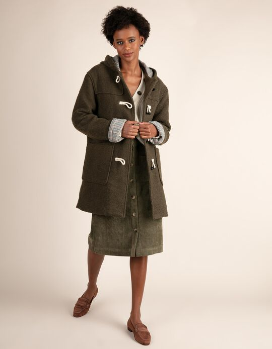 Duffle-type coat