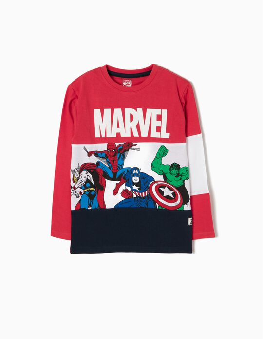 T-shirt Manga Comprida Marvel
