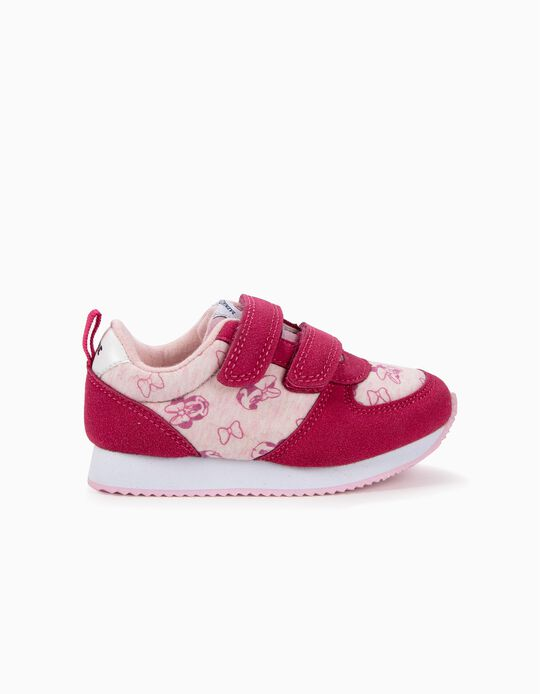 Sapatilhas para Bebé Menina 'Minnie Mouse', Rosa