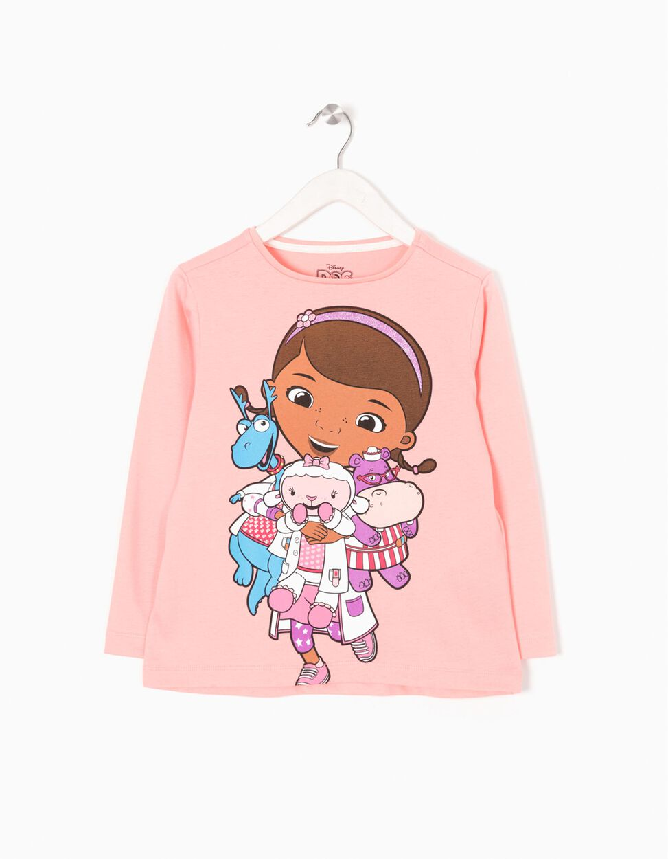 T-shirt Manga Comprida Dr Brinquedo