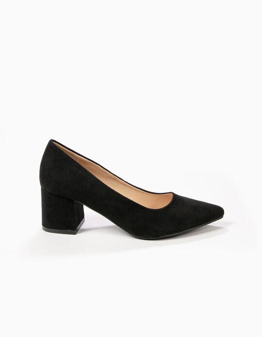 Sapatos em microfibra
