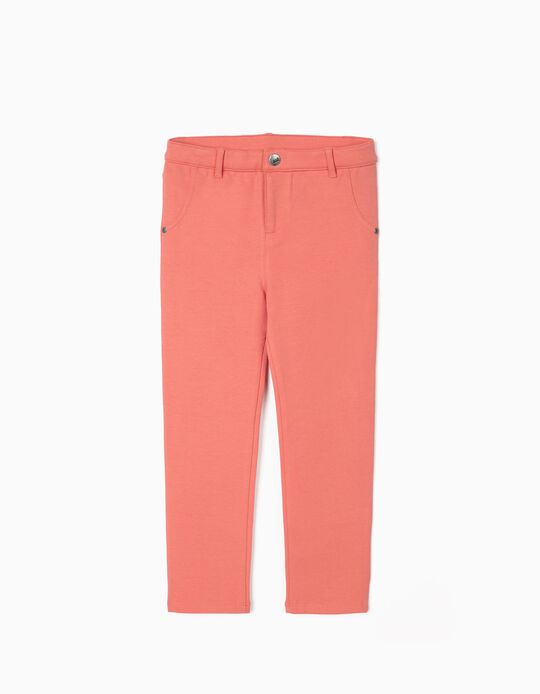Trousers for Girls, Pink