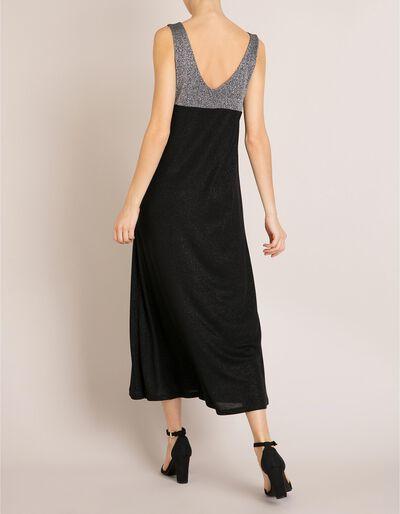 Vestido Comprido Lurex