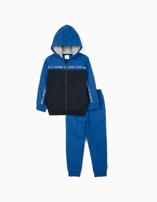 Tracksuit for Boys 'Stars', Blue