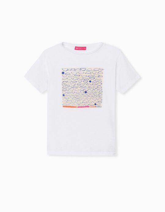 Support T-shirt, Kids, White