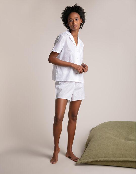 Conjunto de pijama 100% algodão