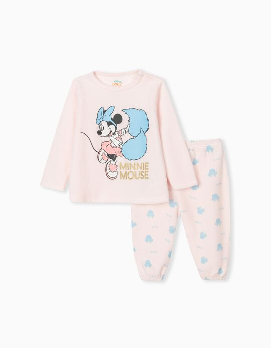 Minnie Mouse Pyjamas, Baby Girls, Pink