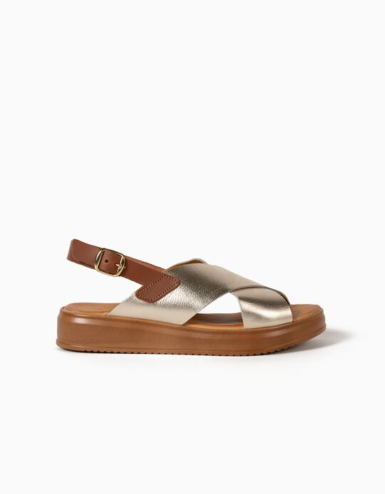 Leather Sandals, Made in Portugal