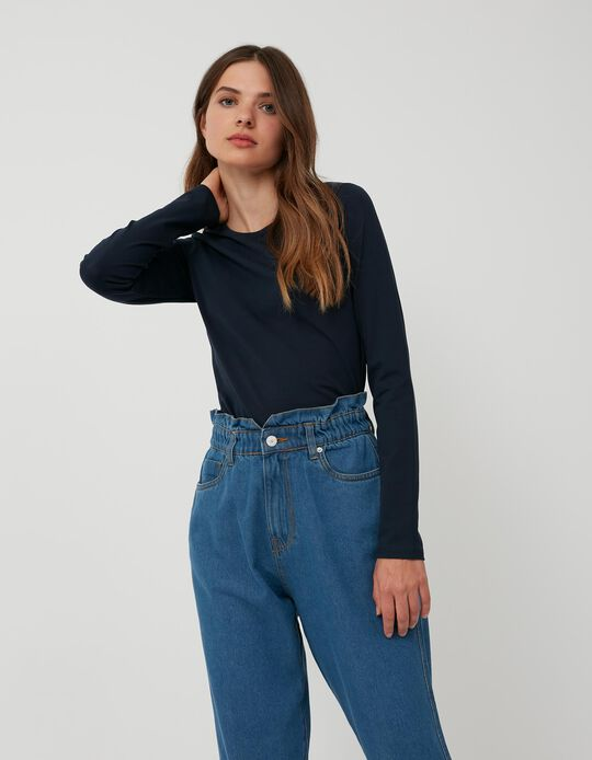 Long Sleeve Top, Mo Essentials