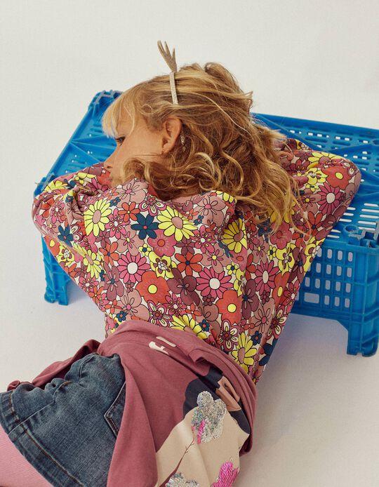 Sweatshirt for Baby Girls 'ZY Girl Power', Pink