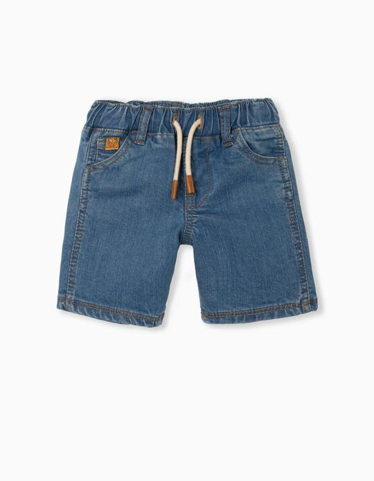 Denim Shorts, Organic Cotton, for Baby Boys