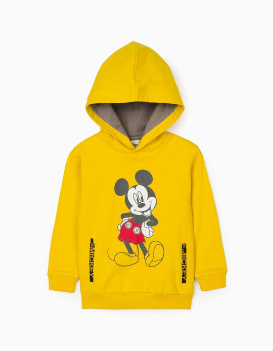 Sweatshirt for Boys 'Mickey', Yellow