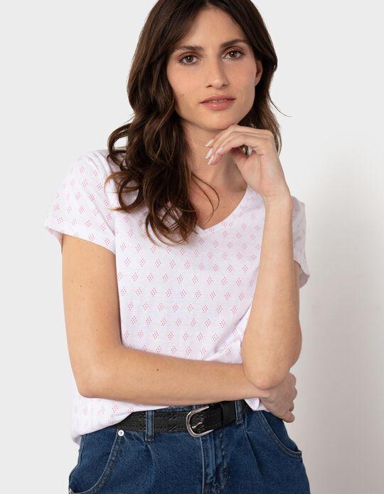 Argyle T-shirt, for Women