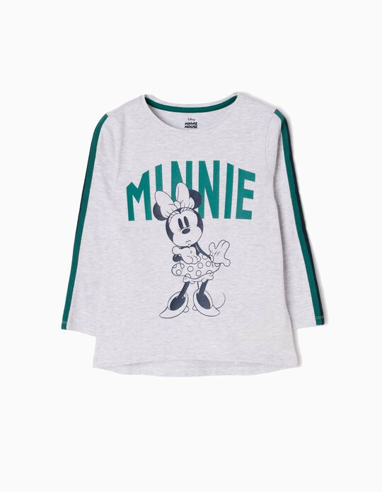 T-shirt Manga Comprida Minnie Kiss