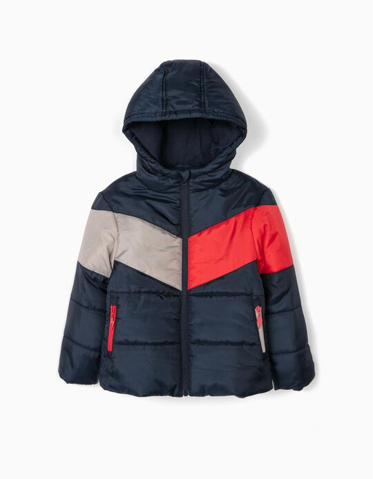 Padded Jacket with Polar Fleece Lining