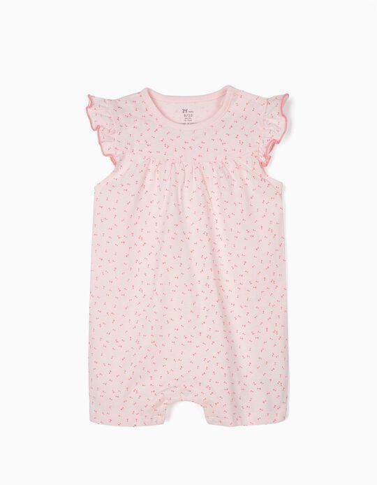 Babygrow para Bebé Menina 'Little Bows', Rosa