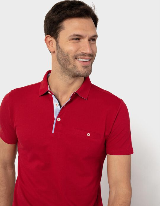 Short Sleeve Polo Shirt, Men