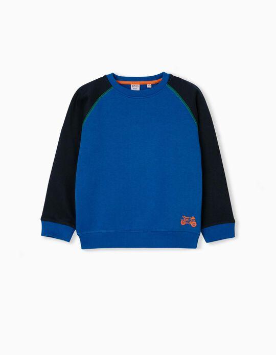 Organic Cotton Sweatshirt, Boys