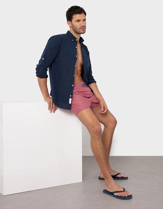 Patterned Swim Shorts, for Men