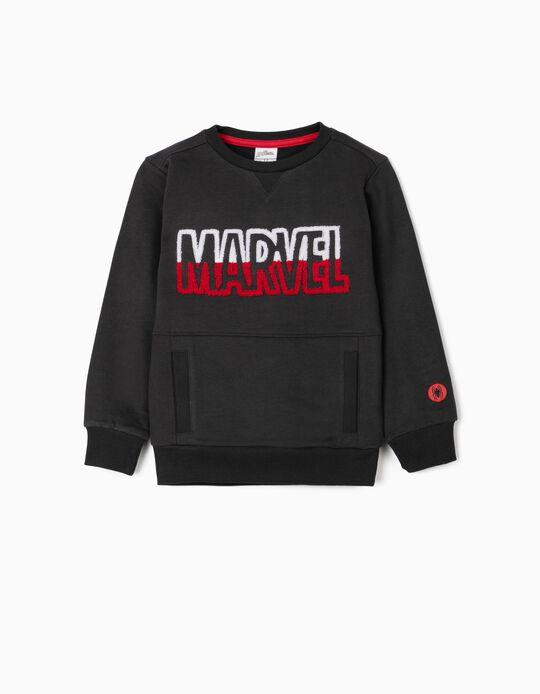 Sweatshirt para Menino 'Marvel', Cinza Escuro