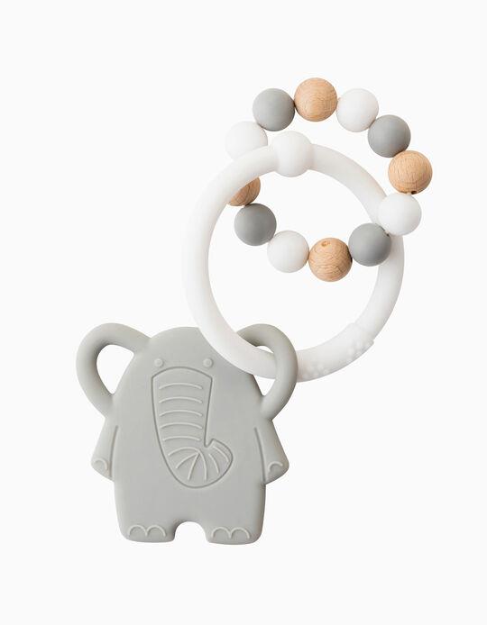 Mordedor Roca Silicone Elefante Nattou