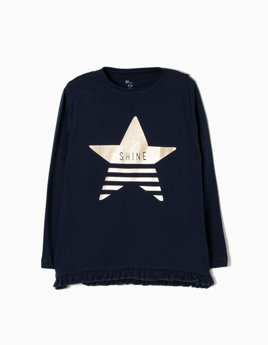 T-shirt Manga Comprida Shine