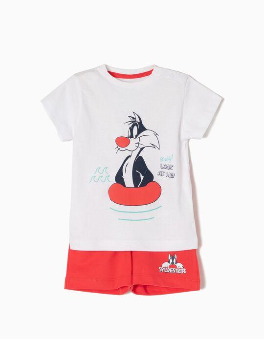 Conjunto T-shirt e Calções Sylvester