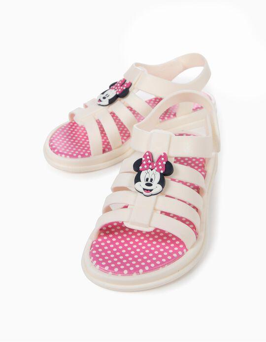 Sandálias para Menina 'ZY Delicious' Minnie, Branco
