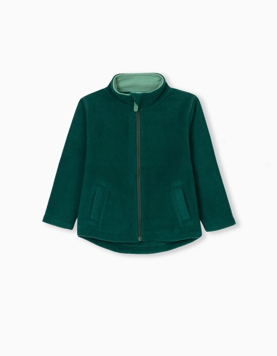 Polar Fleece Jacket for Babies, Green