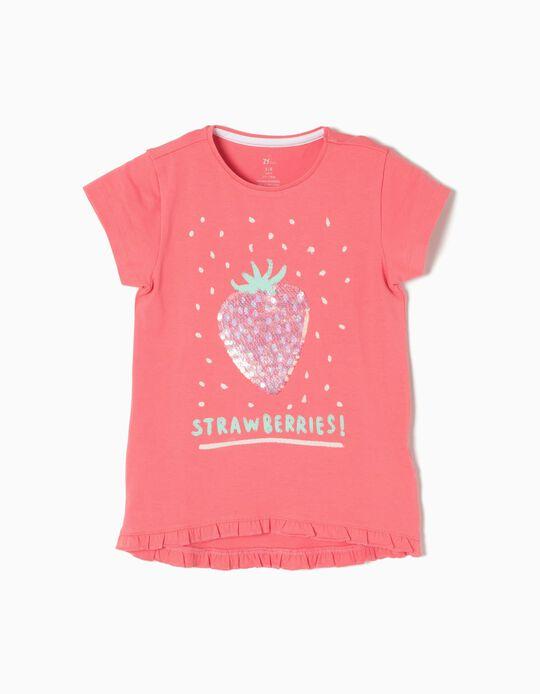 T-shirt Morangos
